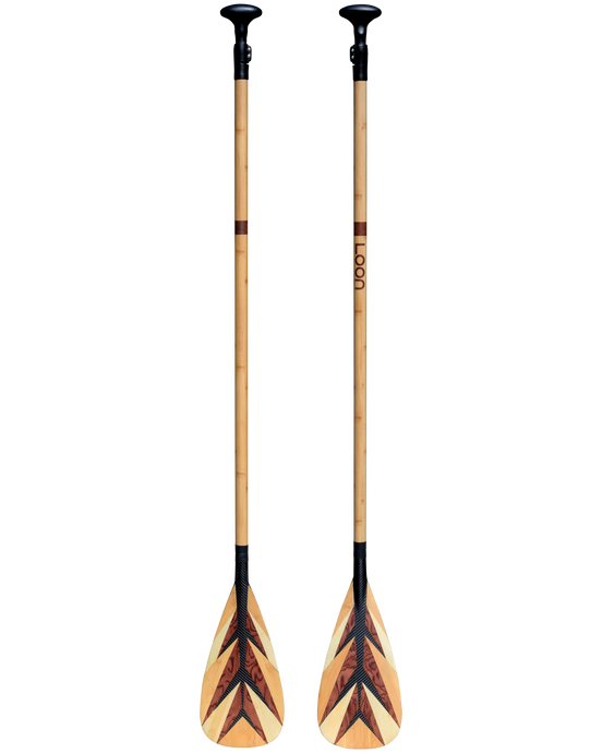 LP-03 Carbon & Bamboo Feather Paddle