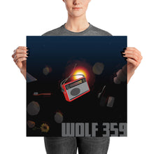 The Official Wolf 359 Poster