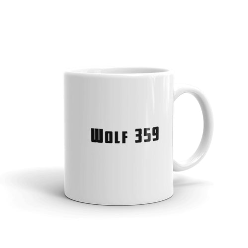 The Official Wolf 359 Logo Mug