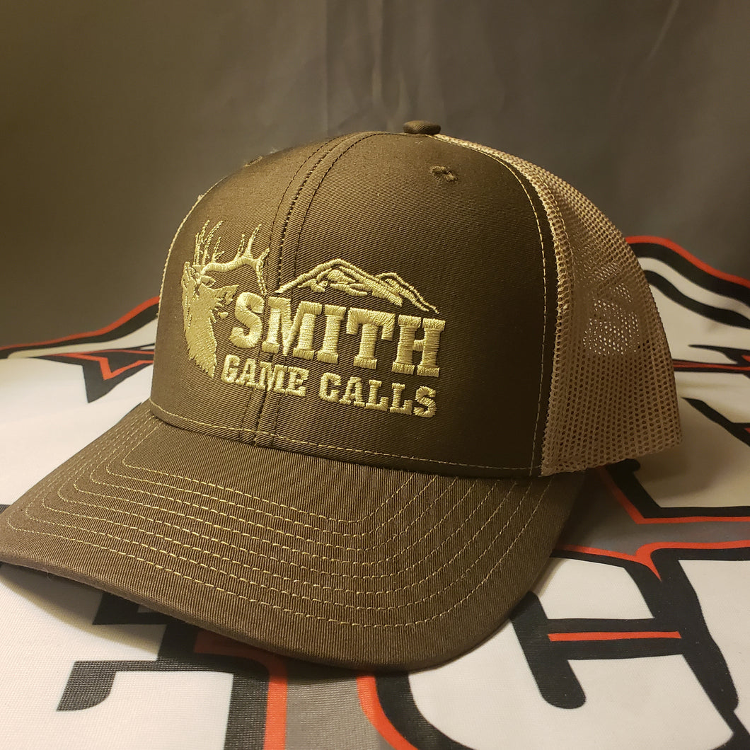 Richardson Trucker Snapback Brown/Khaki