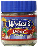 Wyler's Instant Bouillon, Beef Powder, 3.75 Ounce (Pack of 4)