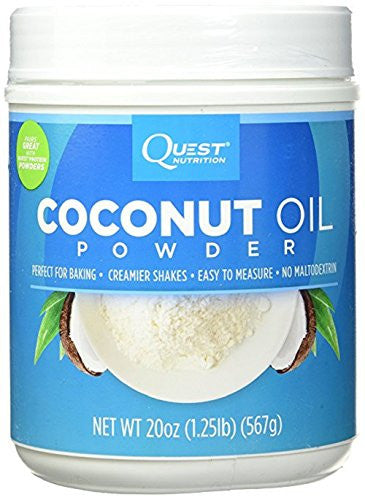 Quest Nutrition Coconut Oil Powder 20 oz (1.25 lbs) (Pack of 2)