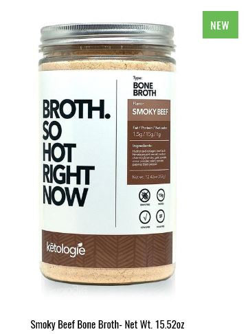 Ketologie Smoky Beef Bone Broth