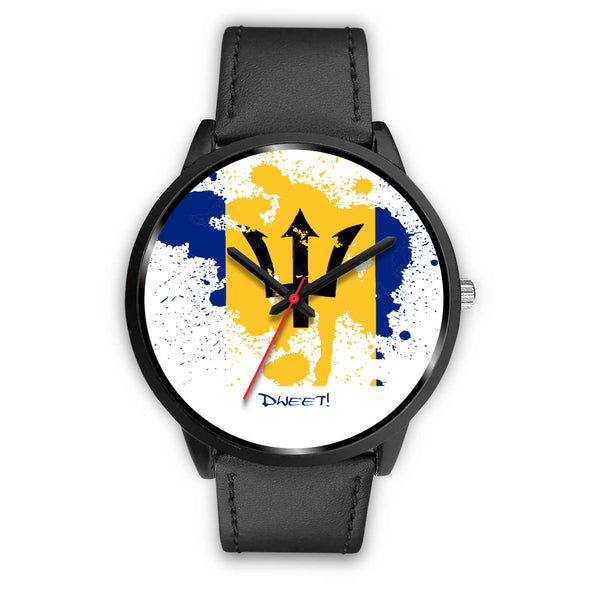 Bajan Flag Splash Watch