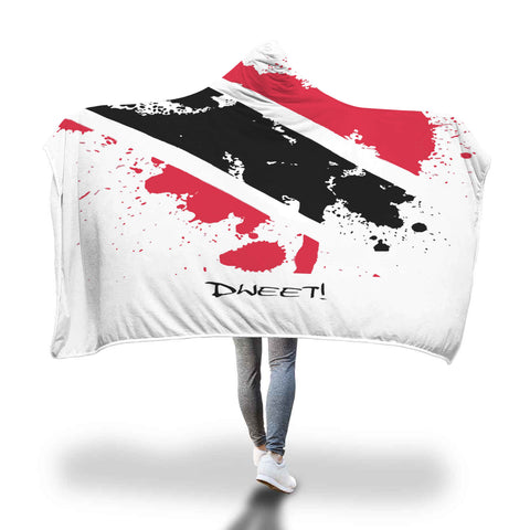 Trinidad Patriotic Hooded Blanket