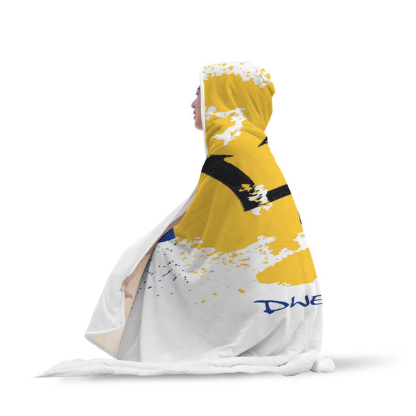 Bajan Patriotic Hooded Blanket