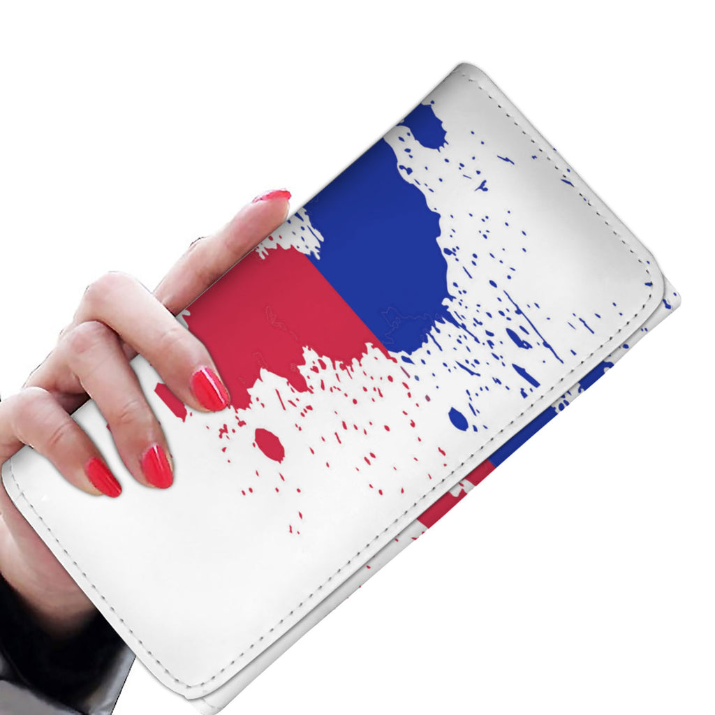 Haitian Flag Women Wallet