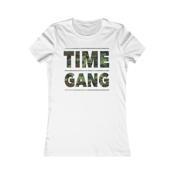 Time Gang Camo Women's Tee