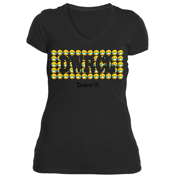 Ladies DWRCL V-neck T-shirt