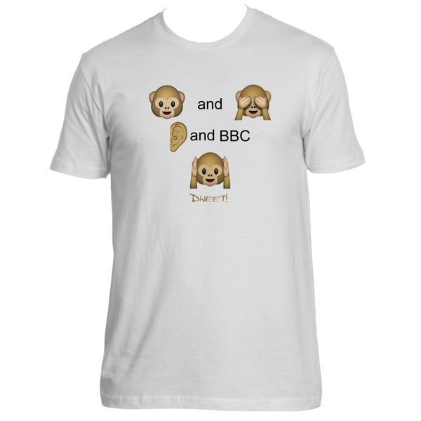 See and blind, hear and bbc deaf T-shirt