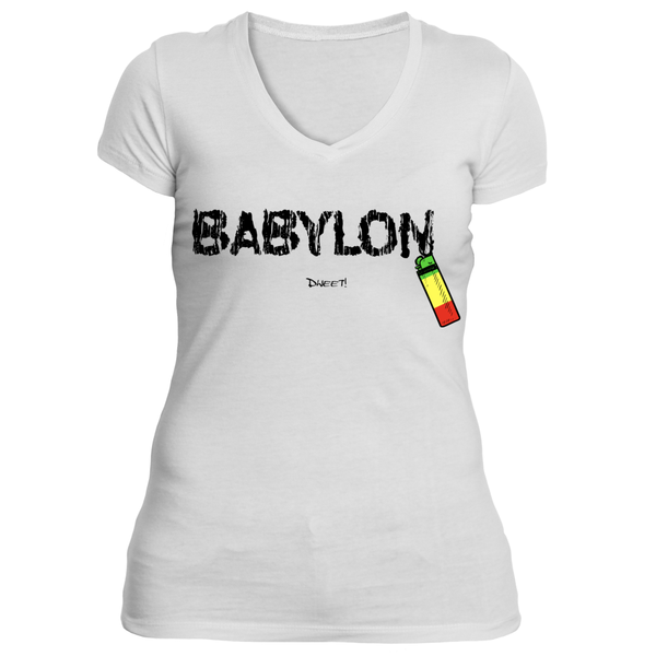 Ladies Burn Babylon classic T-shirt