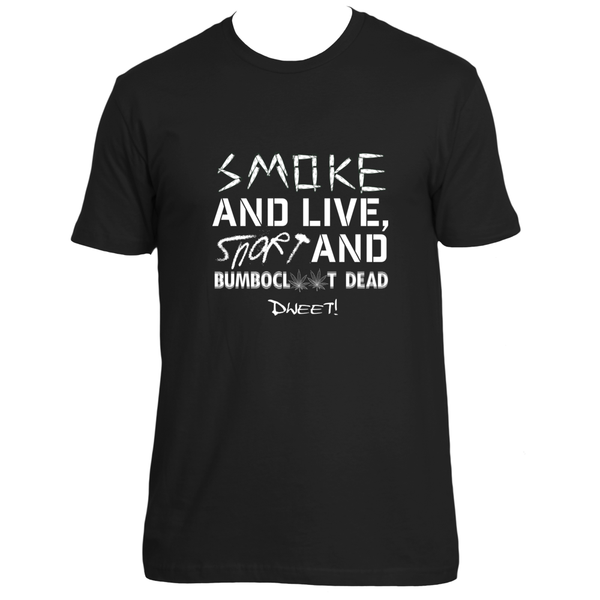 Smoke and live T-shirt