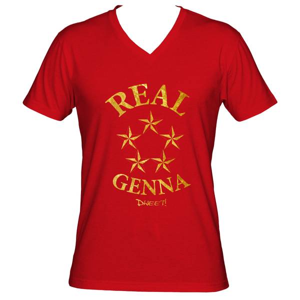 Men Real Genna V-neck T-shirt