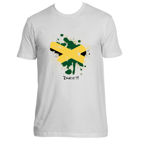 Rep your Island Jamaican splash T-shirt