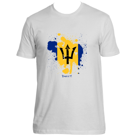 Rep your Island Barbados splash T-shirt
