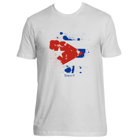 Rep your Island Cuban splash T-shirt