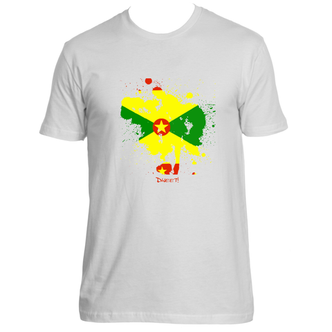 Rep your island Grenada Splash T-shirt