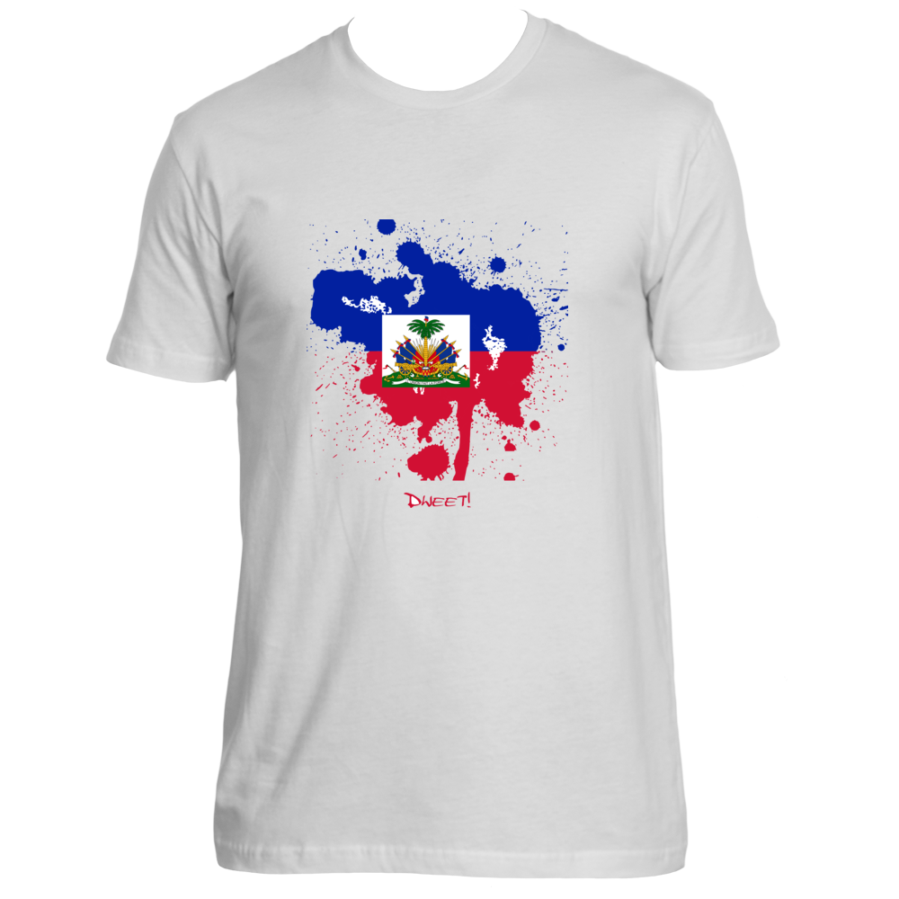 Rep your Island Haiti Splash T-shirt