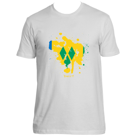 Rep your Island St.Vincent & The Grenadines splash T-shirt
