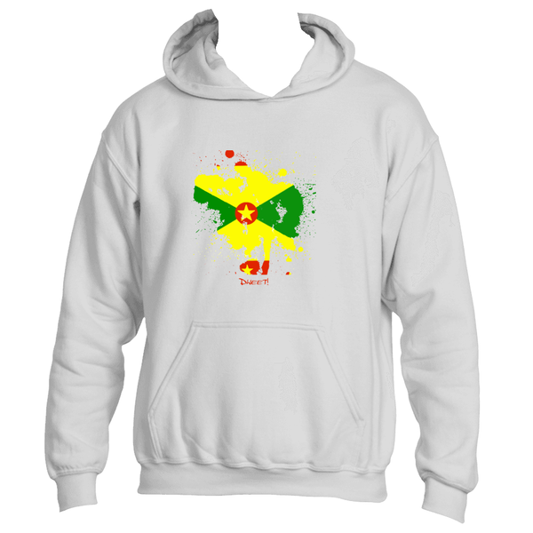 Grenada Rep your Island Splash Hoodie