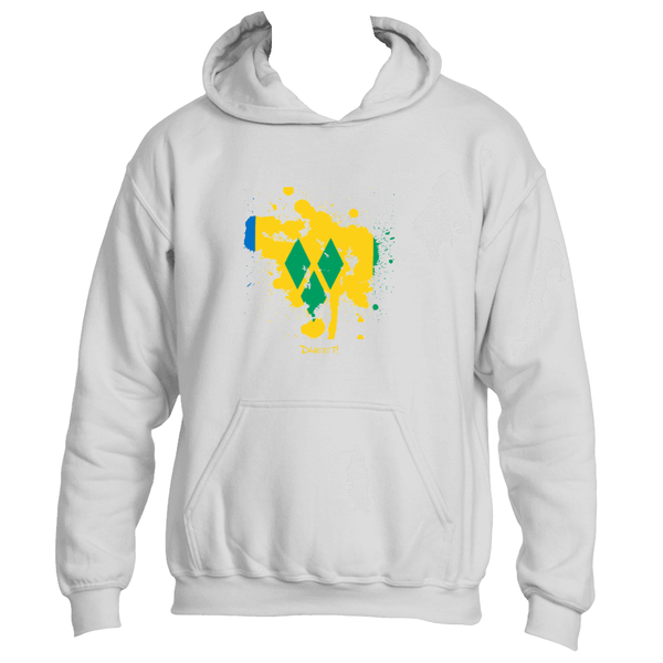 Saint Vincent and The Grenadines  rep your Island Splash Hoodie