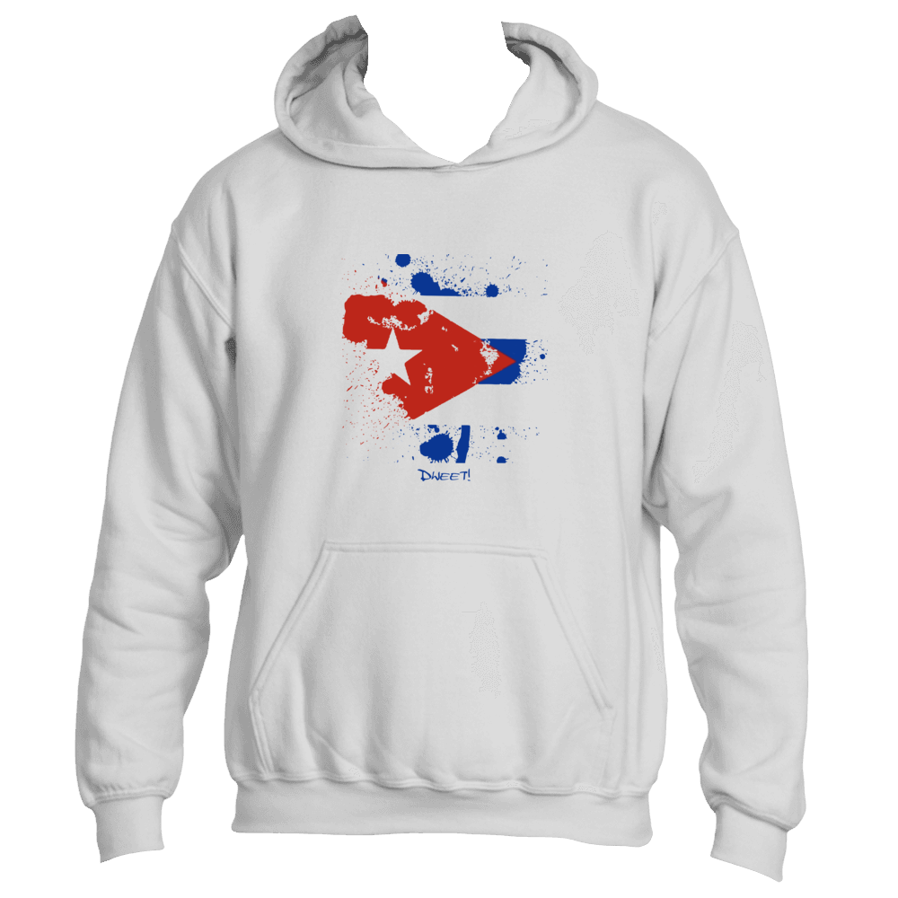 Cuba  rep your Island Splash Hoodie