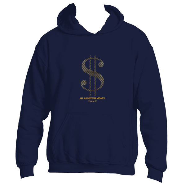 All about the money Hoodie