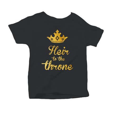 Toddler Heir to the throne Tee