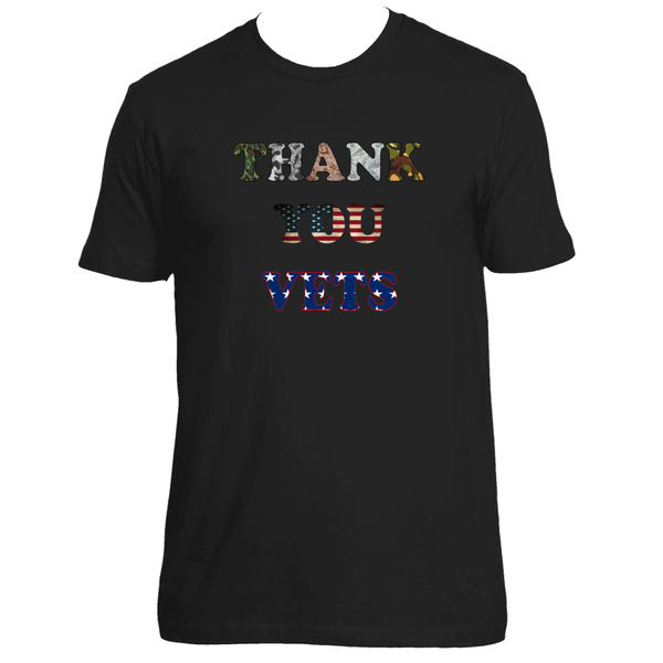 Thank You Vets Memorial Day or Veterans Day Tee