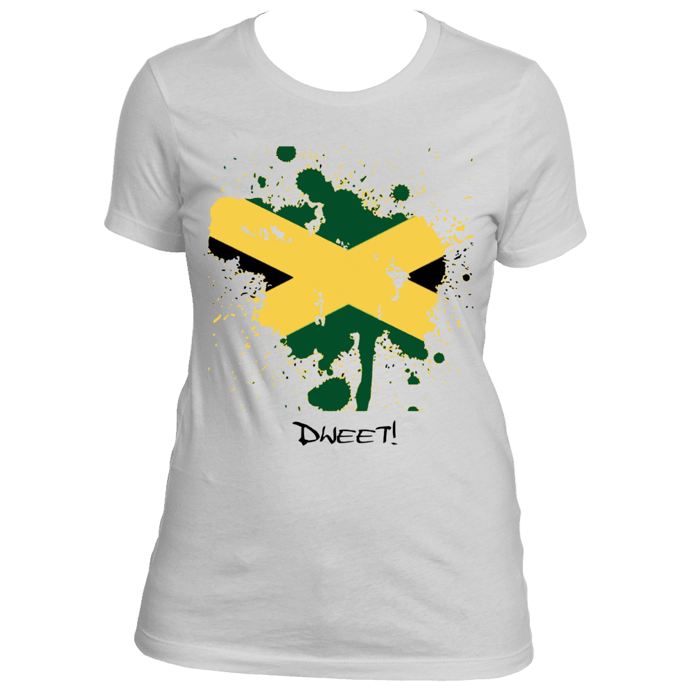 Ladies Jamaican Rep Your Island Tee