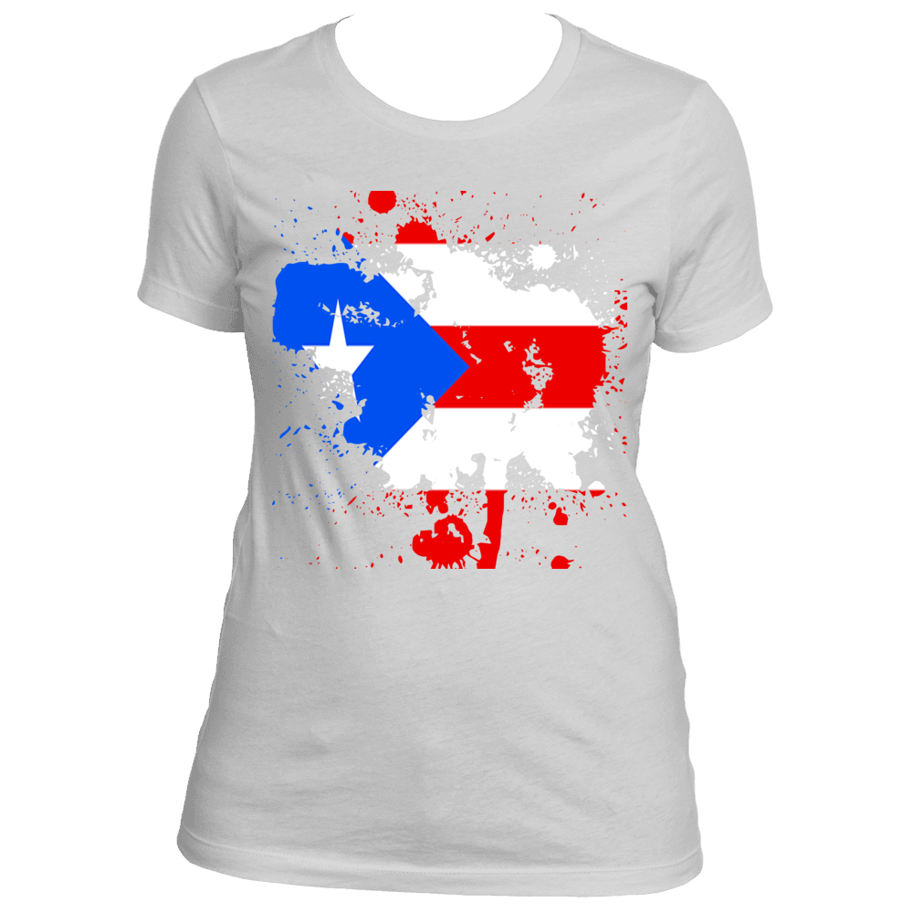 Ladies Puerto Rico Rep Your Island Tee