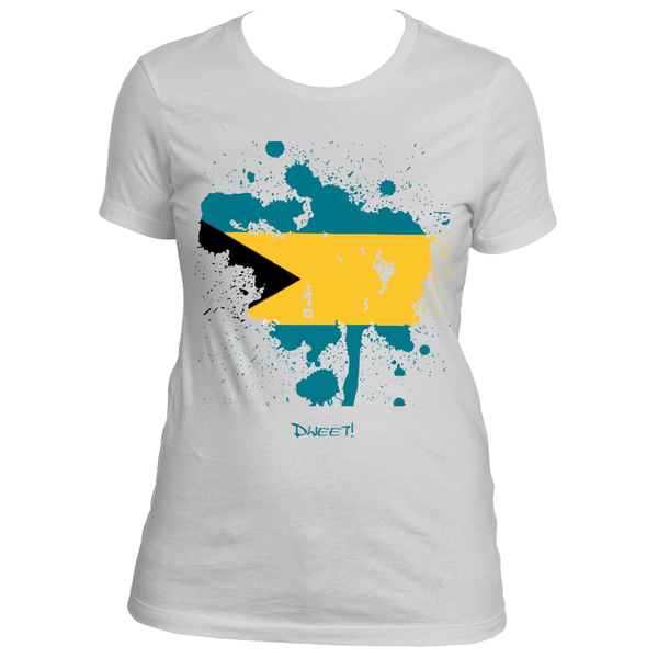 Ladies Bahamas Rep Your Island Tee
