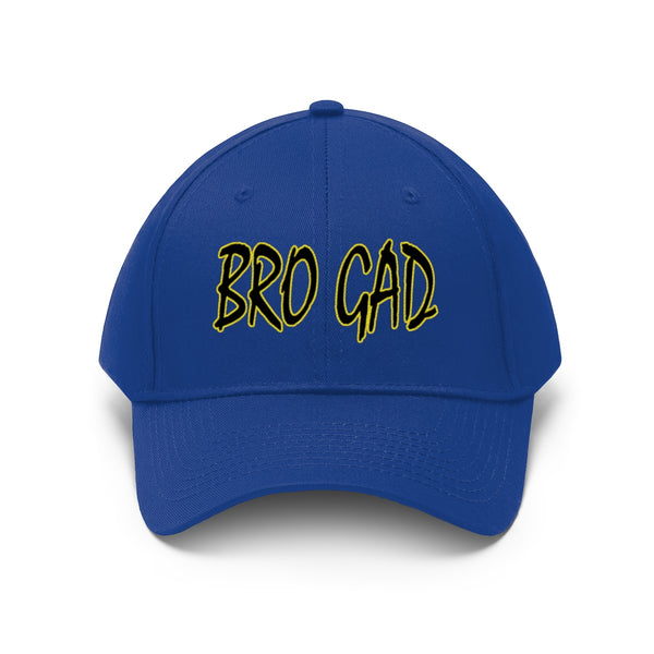 BRO GAD  Embroidered Unisex Twill Hat