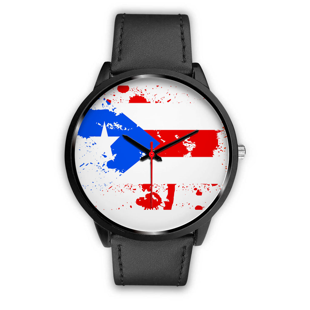 Puerto Rico Flag Splash Watch
