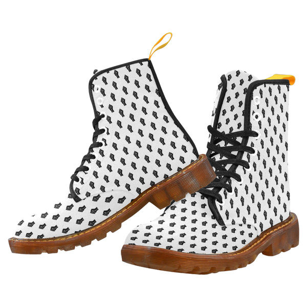 Black Lives Matter Raised Fist High Top Boots