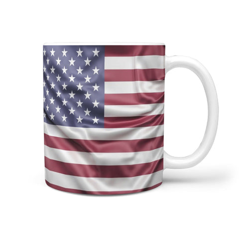 Custom Designed U.S.A Flag Mug
