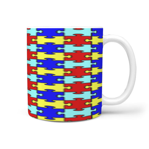 Custom Designed Autism Awareness Mug