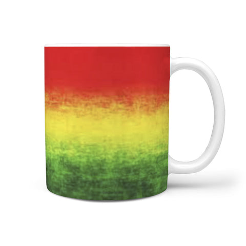 Custom Designed Rasta Color Mug