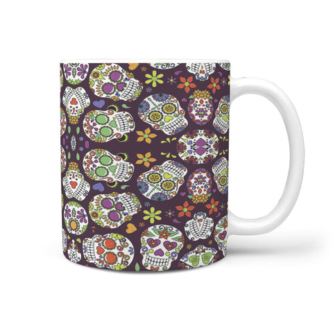 Custom Designed Sugar Skull Mug
