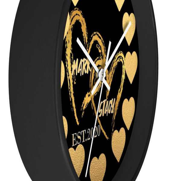 Personalized Couples Wall clock