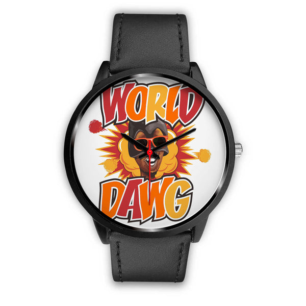 Personalized World Dawg Logo Watch