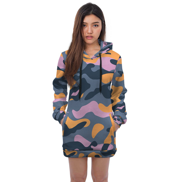 Camo Desire Hooded Dress