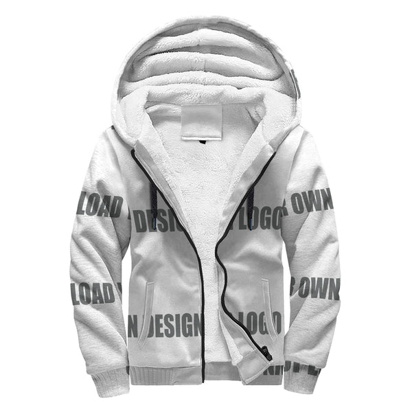 Personalized Sherpa Hoodie(UPLOAD YOUR OWN DESIGN)