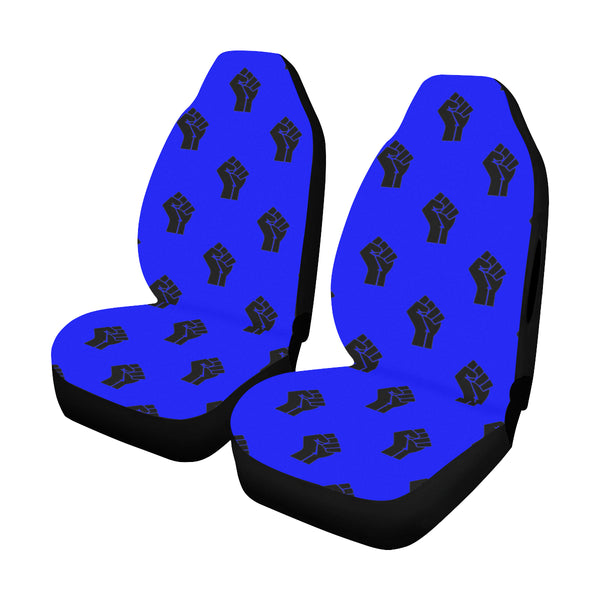 Black Lives Matter Raised Fist Car seat Cover
