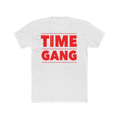 Time Gang Renee Men's Cotton Crew Tee by Renee 630