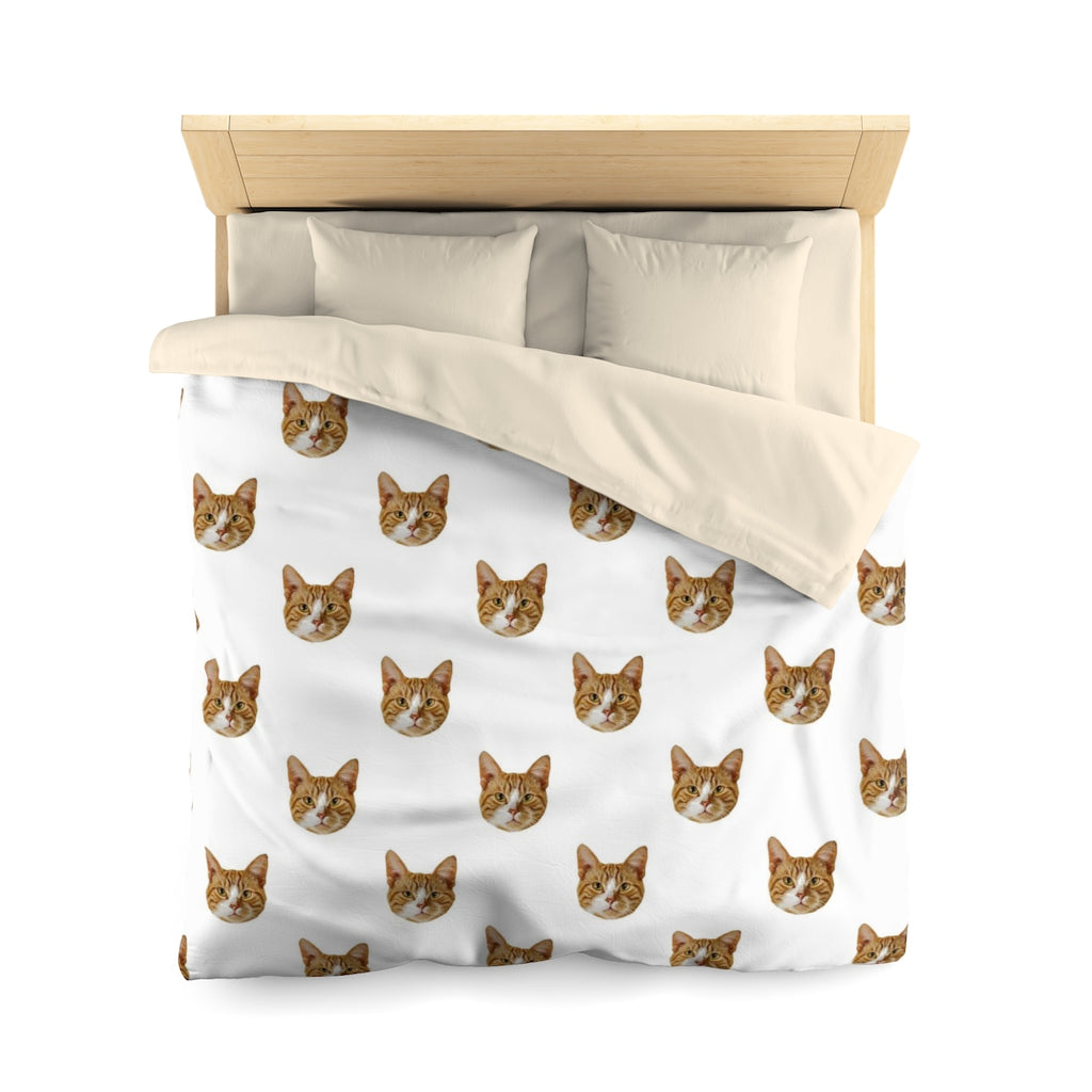 Pet Photo Microfiber Duvet Cover