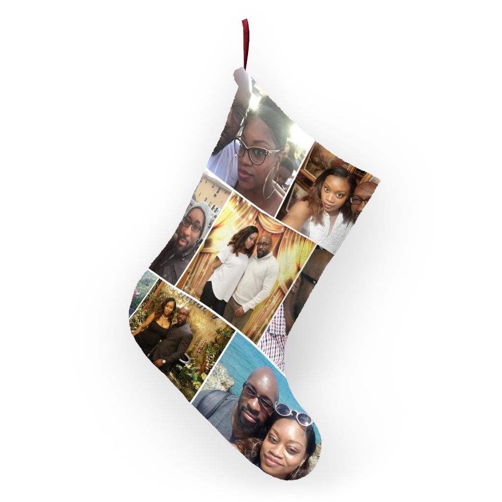 Personalized Photo Collage Christmas Stockings