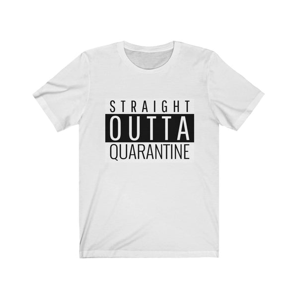 Straight Outta Quarantine Isolation, Quarantine Shirt, stay home, Straight Outta shirt, Quarantine Tee, Social Distancing Shirt, Introvert