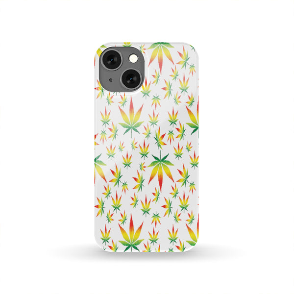 Rasta Weed Leaf Phone Case