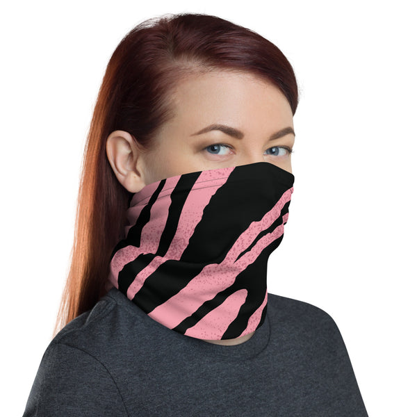 Pink Tiger Neck Gaiter